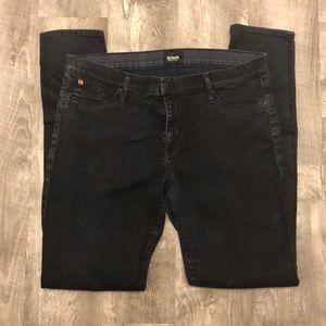 Hudson black jeans.